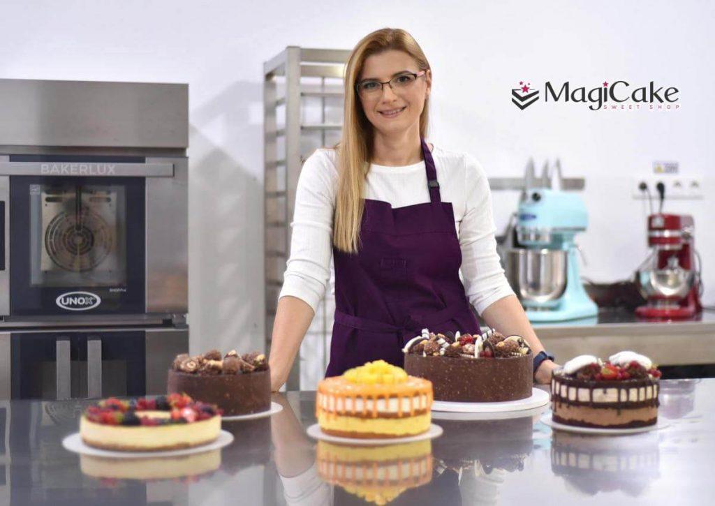Oana - pastry chef Magicake.ro Bucuresti