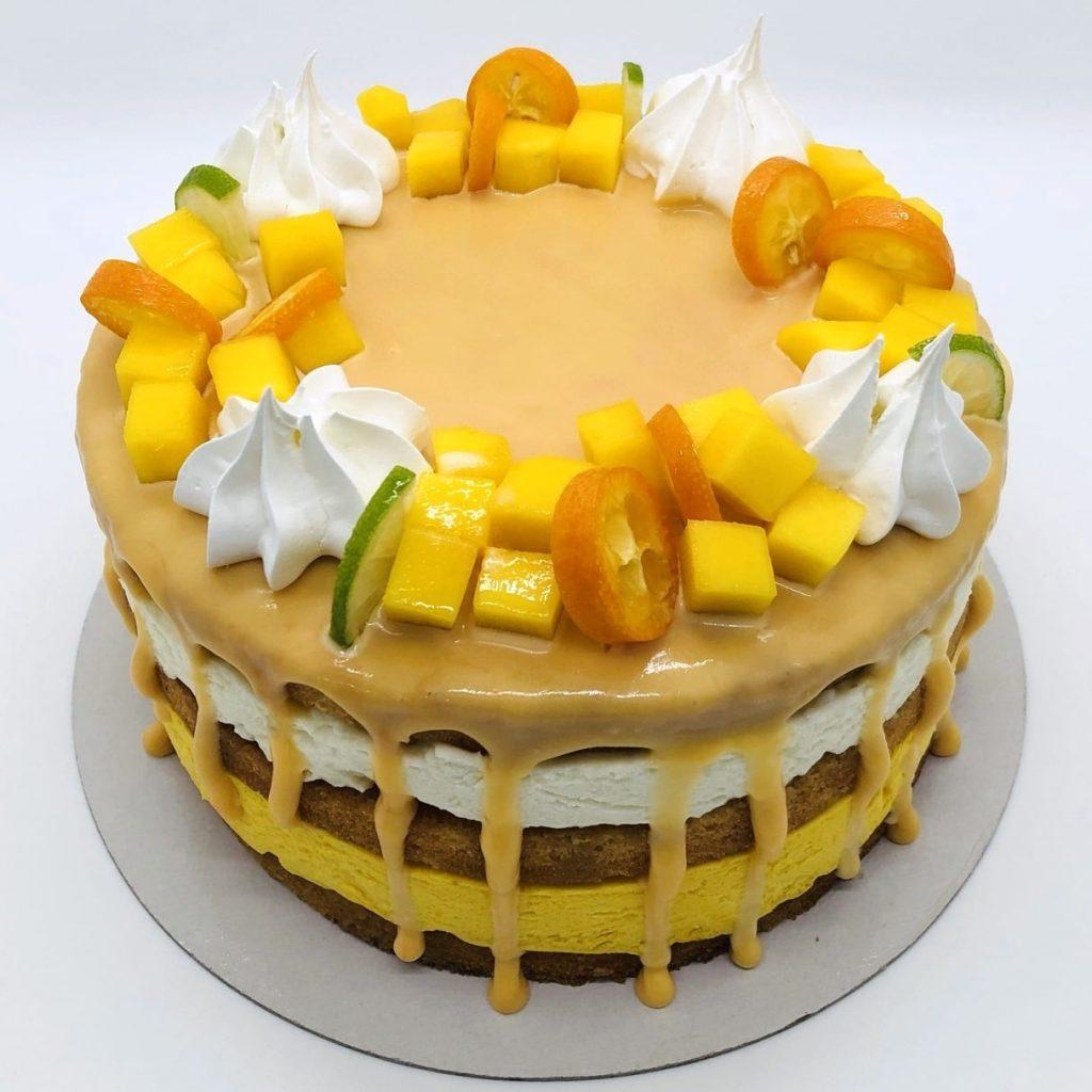 Tort Tropical cu mango si cocos – tort la comanda Bucuresti